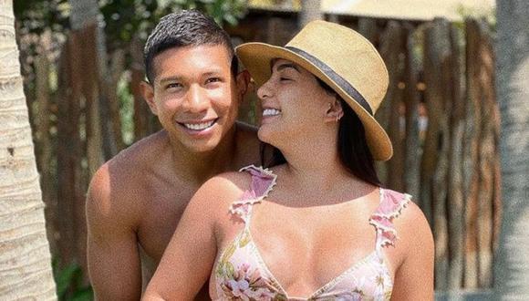 Ana Siucho y Edison Flores se convirtieron en padres el 28 de mayo. (Foto: Instagram @ana_siucho53)