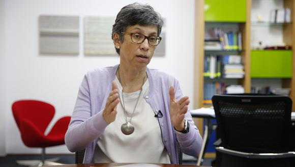 En este episodio de Mentes Peruanas, Bruno Ortiz entrevista a la bióloga y doctora en genética Gisella Orjeda. (Foto: Manuel Melgar/ GEC)