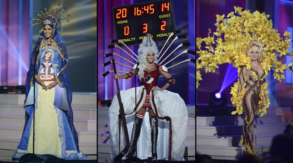 Miss Universo: estos son los trajes típicos más extravagantes - 1