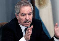 """Argentina dice que confía en que el nuevo Gobierno del Perú respete el """"proceso electoral"""""""