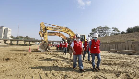 Piura: Contraloría detectó graves deficiencias en la ejecución de3 la obras en el Río Piura para evitar desbordes e inundaciones. (Foto Contraloría)