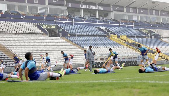Alianza Lima usaría el estadio Matute para todos sus entrenamientos. (Foto: Prensa AL)