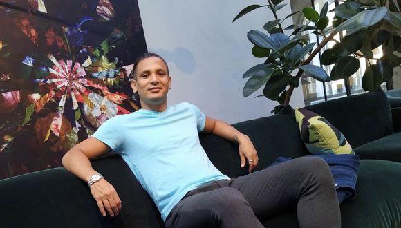 Andrés Vásquez hoy desea continuar con estudios de sociología y ser representante de jugadores. (Foto: Familia Vásquez).
