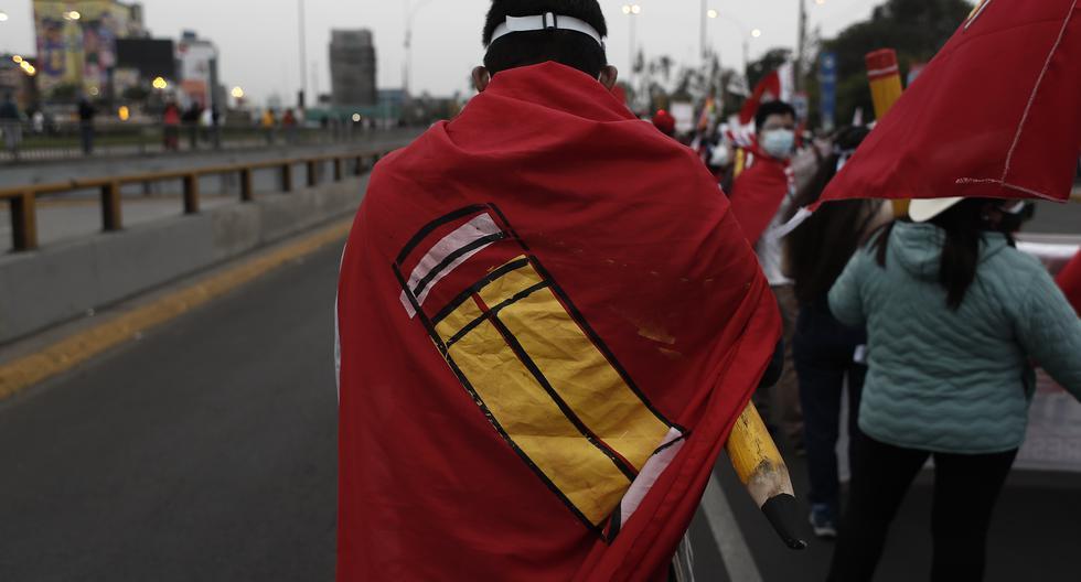 En el caso Los Dinámicos del Centro se encuentran implicados militantes y dirigentes de Perú Libre. (Foto: Cesar Campos / GEC)