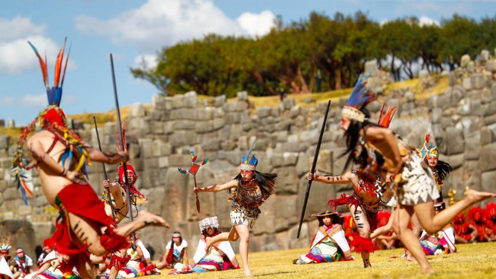Hoy, jueves 24 de junio, se celebra en Cusco el Inti Raymi o Fiesta del Sol del Bicentenario en el Complejo Arqueológico de Sacsayhuamán. Debido a la pandemia del coronavirus (COVID-19) , este evento se desarrolló sin público presente. (Foto: Presidencia Perú)