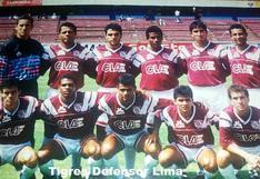 El viejo Defensor Lima y el recuerdo de su camiseta con insólito sponsor: CLAE de Carlos Manrique