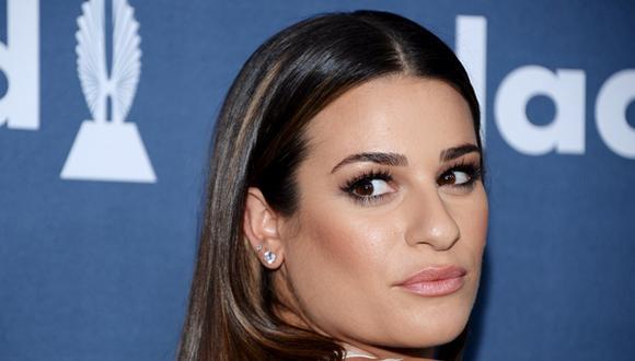 "Instagram. A través de la red social, Lea Michele comparte recuerdo de ""Glee"". (Foto: Reuters)"