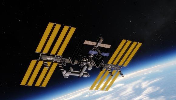 Ilustración de una estación espacial. (Pixabay)