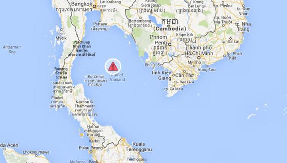Accidente aéreo en Malasia: hay manchas de aceite en esta zona