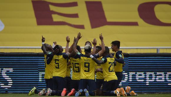 Colombia vs Ecuador (6-1) por Eliminatorias Qatar 2022.