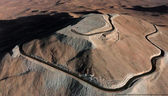 Desierto de la frontera entre Perú y Chile donde posiblemente esté Viviana Alejandra Trujillo Silva. (La Nacional de Venezuela, vía GDA).