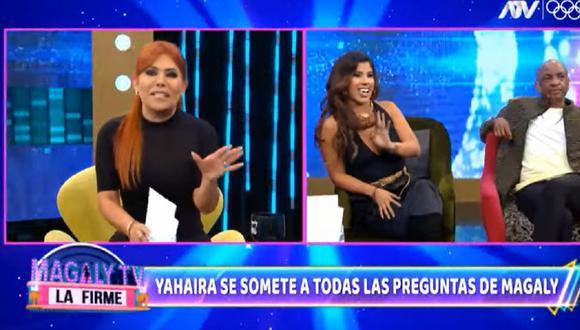 Yahaira Plasencia fue entrevistada en el programa de Magaly Medina. (Foto: Captura ATV).