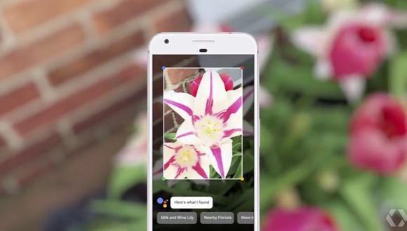 Así es como Google Lens reconocerá todo cuanto rodea al usuario. (Foto: YouTube)