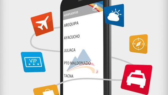 Operador de aeropuertos del sur del país lanza aplicación