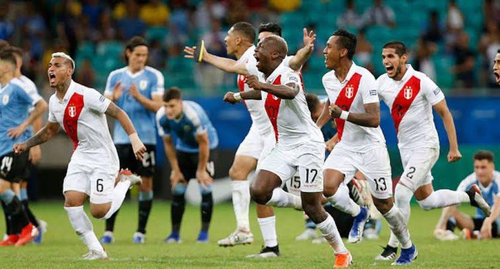 0-0 vs. Uruguay: en cuartos de final, y luego de 90 minutos muy duros, la selección peruana venció por 5-4 en penales a los 'charrúas' para acceder a la semifinal. Pedro Gallese fue la figura. (Foto: GEC)