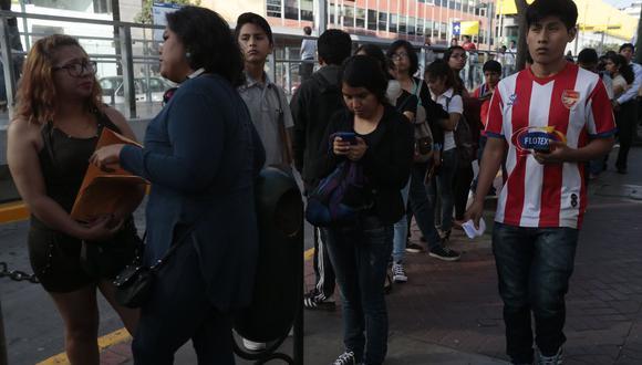 Del total de 33 millones de habitantes en el país, alrededor de 14,2 millones personas contaban con un empleo hasta septiembre. (Foto: GEC)