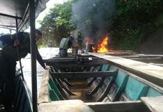 Marina de Guerra ejecuta operativo contra la minería ilegal