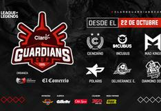 La temporada competitiva de League of Legends cierra con la Claro Guardians Cup 2020