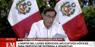 El presidente Martín Vizcarra oficializó la vuelta del fútbol profesional
