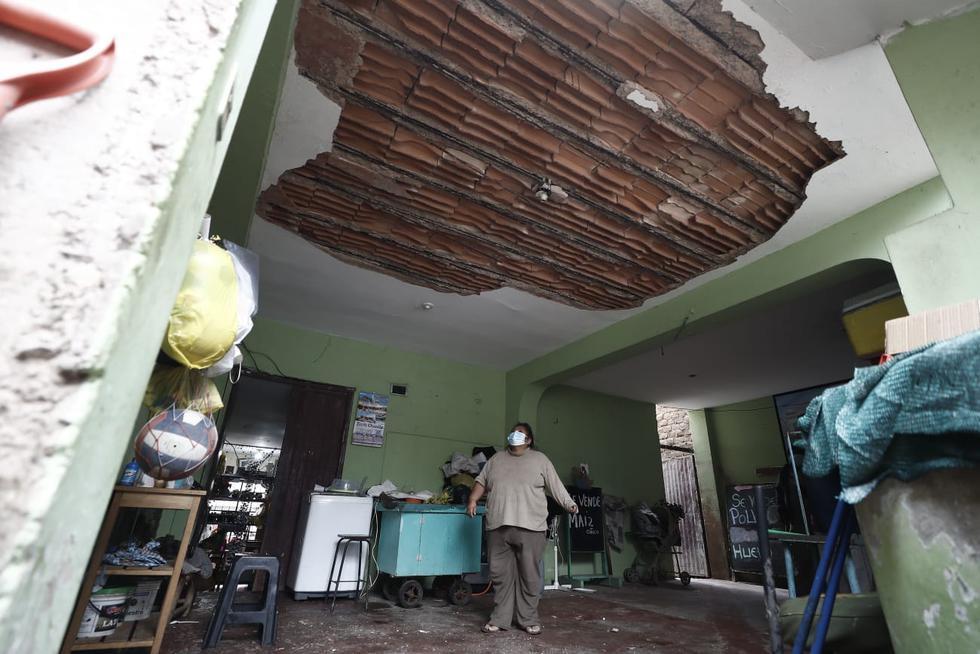 Las viviendas de los asentamientos humanos Santa Rosa y Dignidad Nacional son las afectadas tras el sismo de magnitud 6 que tuvo su epicentro en dicha localidad de Cañete, la noche del martes. Según un reporte preliminar, al menos 10 inmuebles fueron afectados y un grupo de ciudadanos fue atendido por lesiones de leves a moderadas. (Foto: César Campos / @photo.gec)