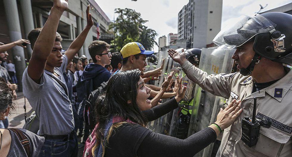 Venezuela: Estudiantes y periodistas se enfrentan a la policía - 5