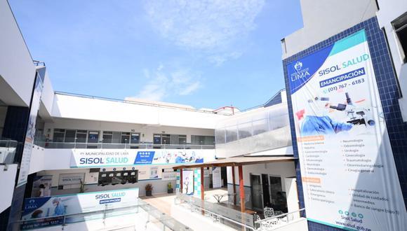 El hospital de Sisol Salud tiene una sala de urgencias que atenderá las 24 horas del día, así como tres modernas salas de operaciones. (Foto: Municipalidad de Lima)