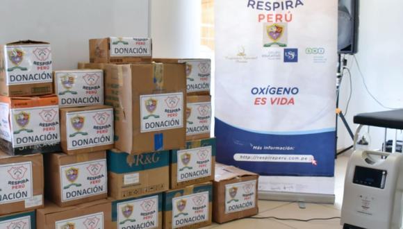 Tacna: hospital Hipólito Unanue recibió concentradores de oxígeno y camillas para pacientes COVID-19 (Foto: hospital Hipólito Unanue)