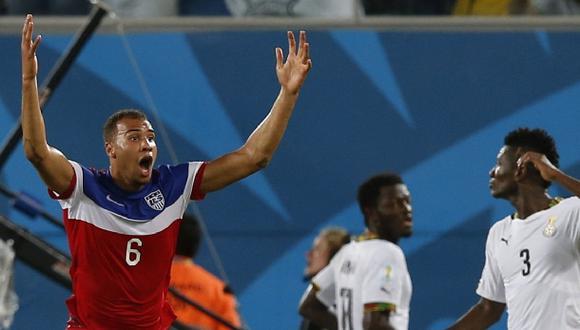 Estados Unidos venció 2-1 a Ghana en dramático final