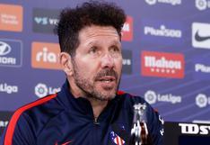 """Simeone se rinde ante Luis Suárez: """"Ha reivindicado todo lo que no se esperaba de él"""""""
