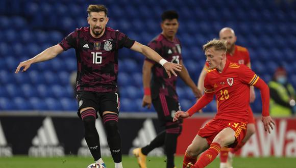 México enfrentó a Gales en un amistoso internacional FIFA