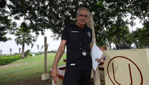 Gregorio Pérez conversó con El Comercio desde Uruguay a una semana de que Universitario juegue en la reanudación de la Liga 1 ante la Academia Cantolao. (Foto: Jesús Saucedo / GEC)