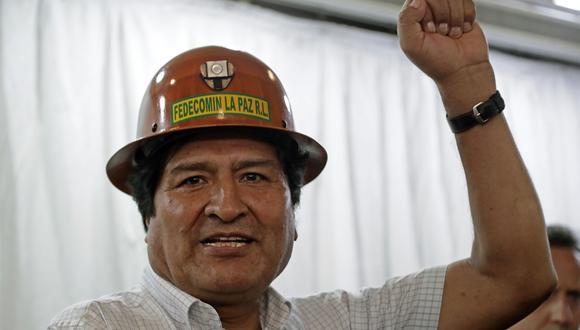 El expresidente de Bolivia Evo Morales está refugiado actualmente en Argentina. (Alejandro PAGNI / AFP).