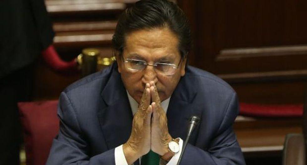 Toledo pide a fiscal que reprograme su interrogatorio