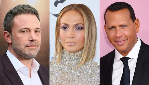 Alex Rodríguez está dedicado a los negocios y diversión con amigos tras el acercamiento entre Jennifer Lopez y Ben Affleck. (Foto: AFP / Composición)