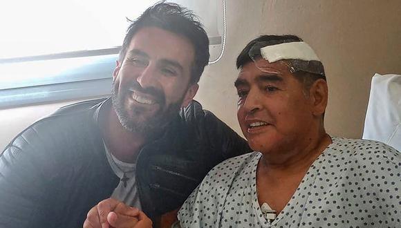 Firma de Diego Maradona fue falsificada y el principal sospechoso es Leopoldo Luque, su médico personal | Foto: AFP