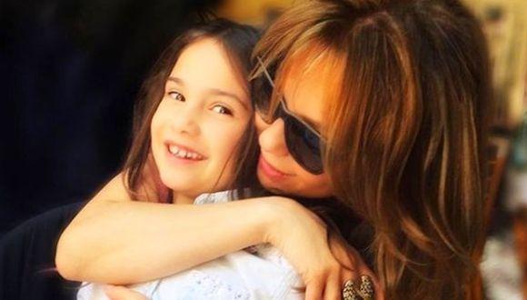 Thalía y Sabrina Sakaë. (Foto: Instagram)