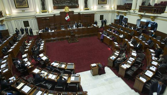La sesión del pleno del Congreso está prevista que inicie a las 9:00 a.m. (Foto: El Comercio)
