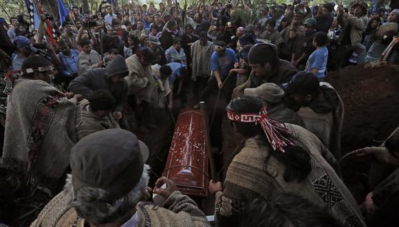 Hace menos de una semana atrás el comunero mapuche Camilo Catrillanca murió tras ser baleado en la cabeza en La Araucanía. (Archivo AP)
