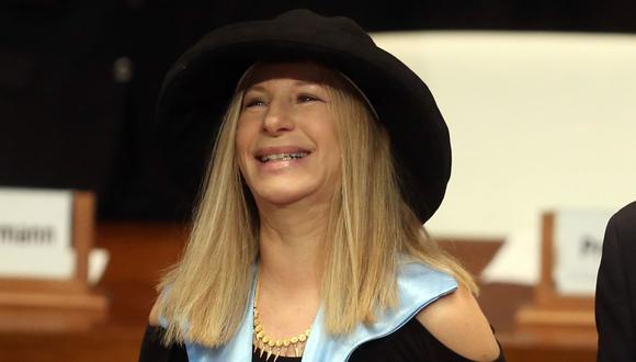 Barbra Streisand homenajea al personal médico que se enfrenta al coronavirus. (Foto: AFP)