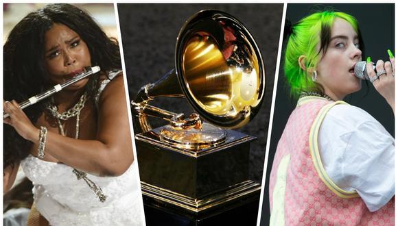 Grammy 2020: Lizzo y Billie Eilish lideran las nominaciones en esta edición, con 8 y 6 postulaciones respectivamente. (Foto: Agencia)