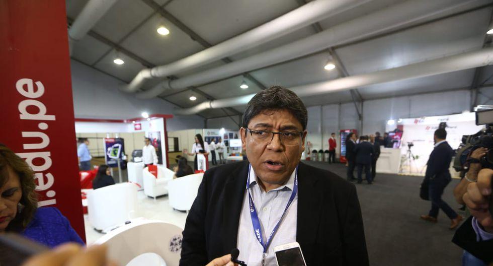 Elmer Cuba, director del Banco Central de Reserva (BCR) en CADE Ejecutivos 2018. (Foto: El Comercio)