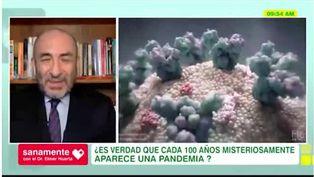 Sanamente: ¿Es cierto que cada 100 años aparece una nueva pandemia?