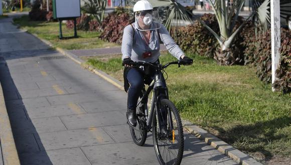 La movilidad y el distanciamiento social. (Foto: Francisco Neyra)