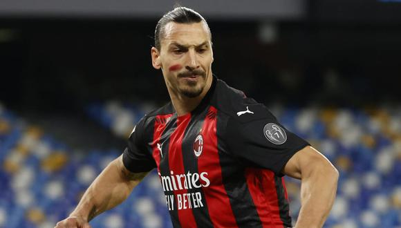 Zlatan Ibrahimovic puede quedar fuera de las canchas por un mes. (Foto: Reuters)