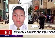 Comas: repartidores falsos acribillaron a joven de 26 años