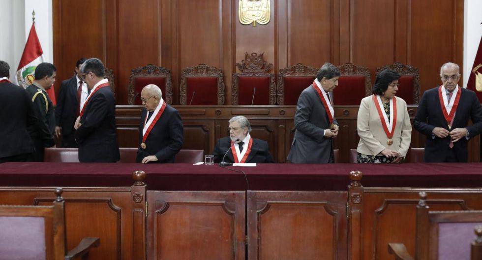 El Tribunal Constitucional inició este martes el debate sobre el hábeas corpus que busca la excarcelación de Keiko Fujimori. (Foto: El Comercio)