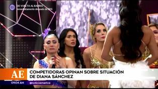 'Reinas del show' opinan sobre la salida de Diana Sánchez de la competencia