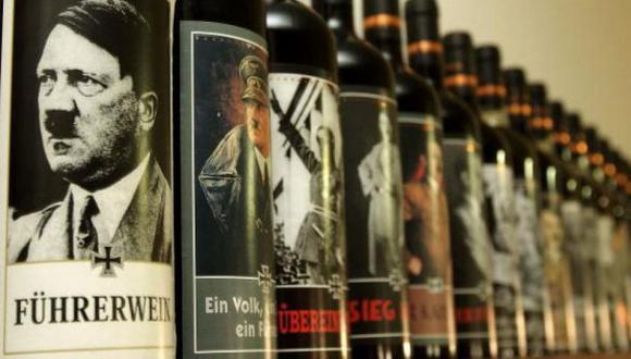 Alemania: Policía confisca botellas de vino con cara de Hitler