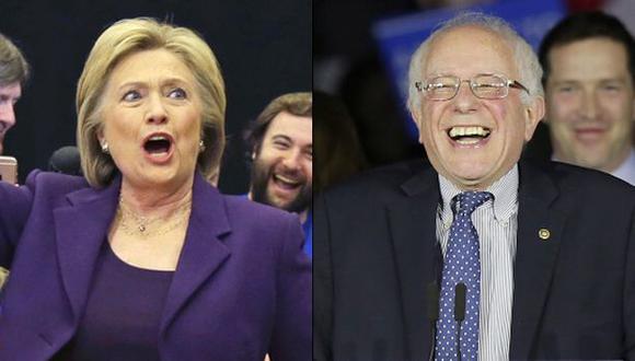 Clinton y Sanders se reparten los delegados demócratas en Iowa