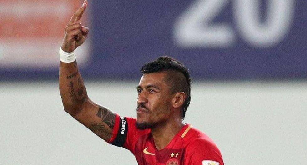 Paulinho sigue anotando goles en China. Ahora le anotó un doblete al Guangzhou R&F, por la fecha 16 de la Superliga China. (Foto: AFP)